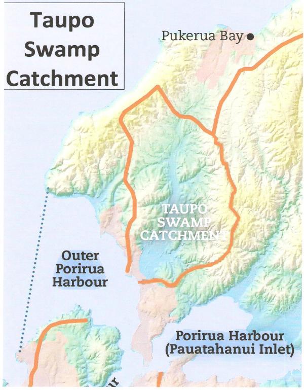 Taupo Swamp Catchment